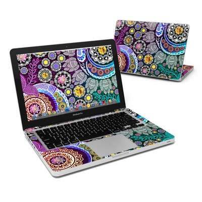 MacBook Pro 13in Skin - Mehndi Garden