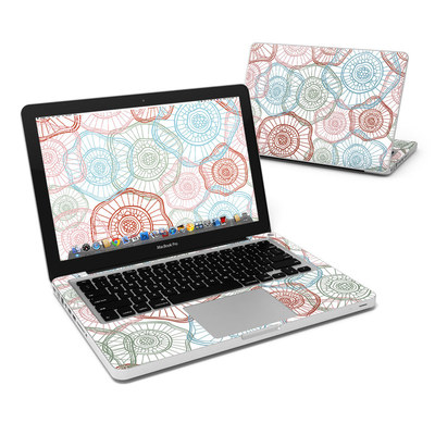 MacBook Pro 13in Skin - Micro Flowers