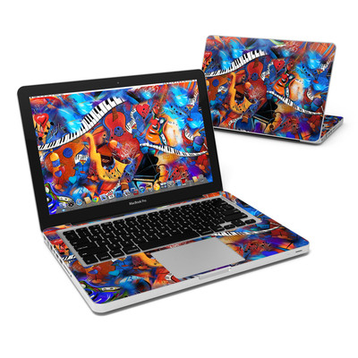 MacBook Pro 13in Skin - Music Madness