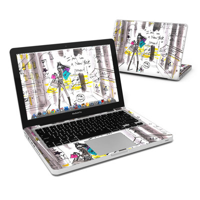 MacBook Pro 13in Skin - My New York Mood
