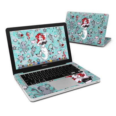 MacBook Pro 13in Skin - Molly Mermaid