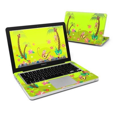 MacBook Pro 13in Skin - Monkey Melody