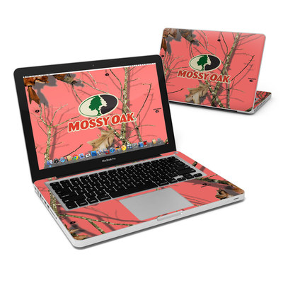 MacBook Pro 13in Skin - Break-Up Lifestyles Salmon