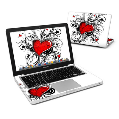 MacBook Pro 13in Skin - My Heart