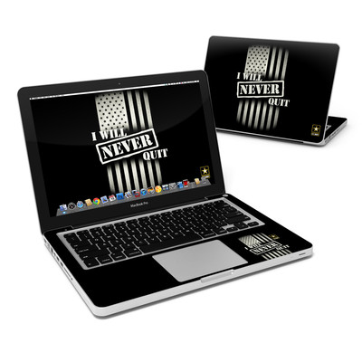 MacBook Pro 13in Skin - Never Quit