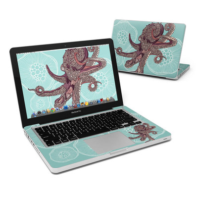MacBook Pro 13in Skin - Octopus Bloom