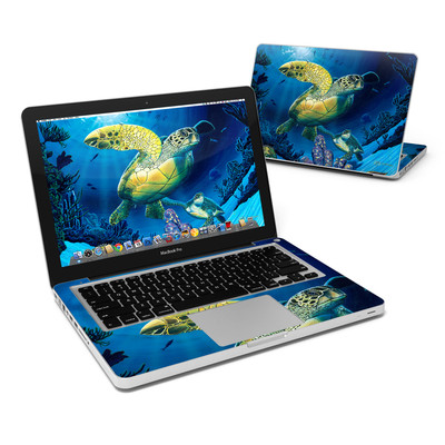 MacBook Pro 13in Skin - Ocean Fest