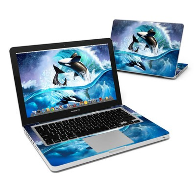 MacBook Pro 13in Skin - Orca Wave