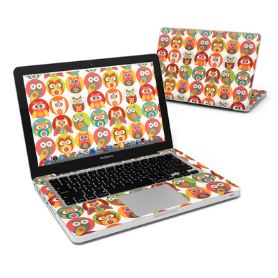 MacBook Pro 13in Skin - Owls Family