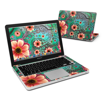 MacBook Pro 13in Skin - Paisley Paradise