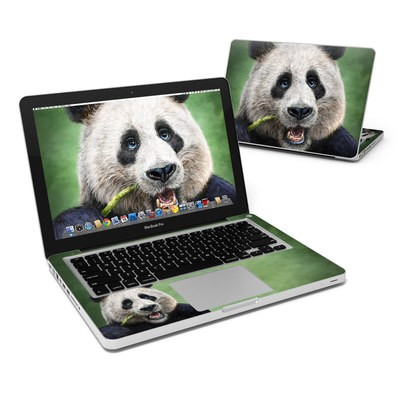 MacBook Pro 13in Skin - Panda Totem