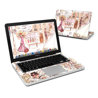 MacBook Pro 13in Skin - Paris Makes Me Happy