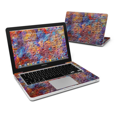MacBook Pro 13in Skin - Painted Brick
