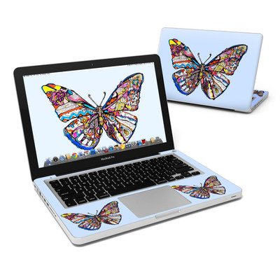MacBook Pro 13in Skin - Pieced Butterfly