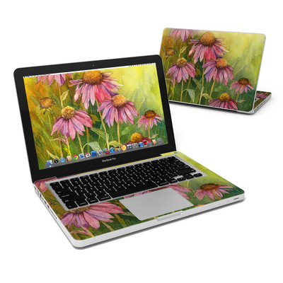 MacBook Pro 13in Skin - Prairie Coneflower