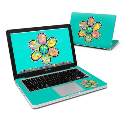 MacBook Pro 13in Skin - Peace Flower