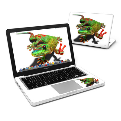 MacBook Pro 13in Skin - Peace Gecko