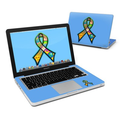 MacBook Pro 13in Skin - Peace Ribbon