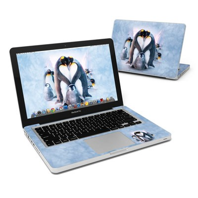 MacBook Pro 13in Skin - Penguin Heart