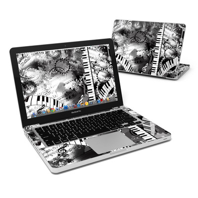 MacBook Pro 13in Skin - Piano Pizazz