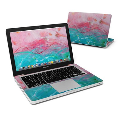 MacBook Pro 13in Skin - Pink Sky