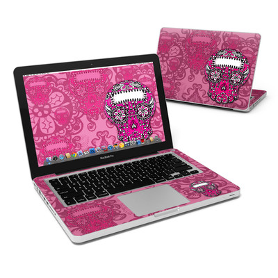 MacBook Pro 13in Skin - Pink Lace