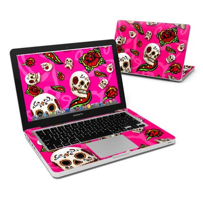 MacBook Pro 13in Skin - Pink Scatter