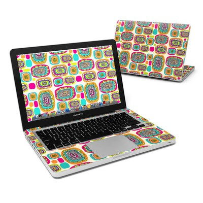 MacBook Pro 13in Skin - Pod Flowers
