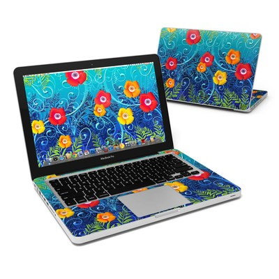 MacBook Pro 13in Skin - Poppies
