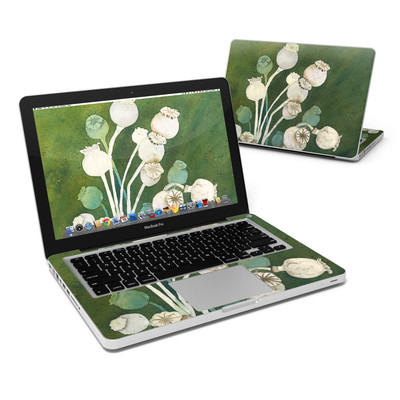 MacBook Pro 13in Skin - Poppy Pods