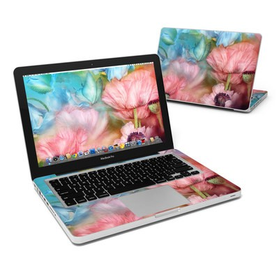 MacBook Pro 13in Skin - Poppy Garden