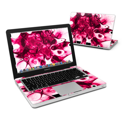 MacBook Pro 13in Skin - Pink Splatter