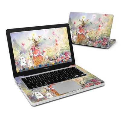 MacBook Pro 13in Skin - Queen of Hearts