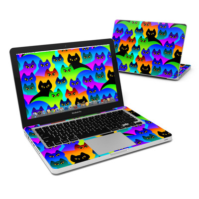 MacBook Pro 13in Skin - Rainbow Cats