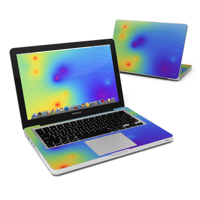 MacBook Pro 13in Skin - Rainbow Contours