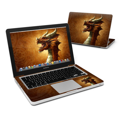 MacBook Pro 13in Skin - Red Dragon