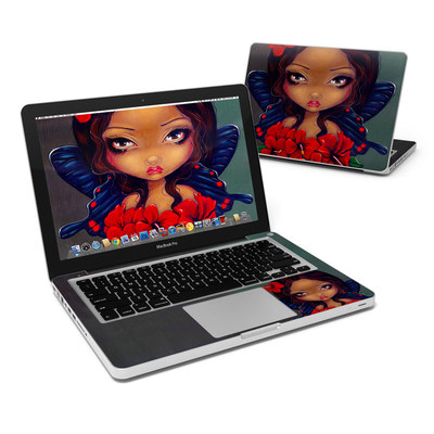 MacBook Pro 13in Skin - Red Hibiscus Fairy