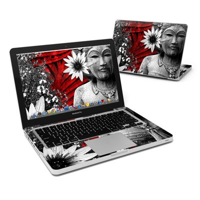 MacBook Pro 13in Skin - Red Island Radiance