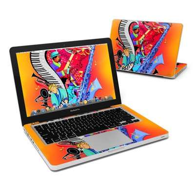 MacBook Pro 13in Skin - Red Hot Jazz