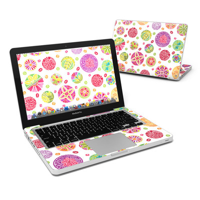 MacBook Pro 13in Skin - Round Flowers
