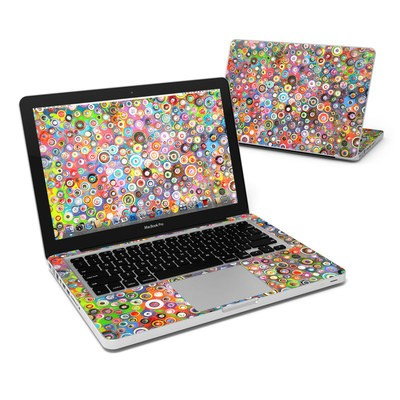MacBook Pro 13in Skin - Round and Round