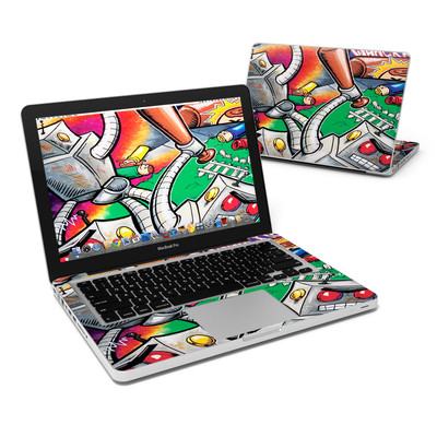 MacBook Pro 13in Skin - Robot Beatdown
