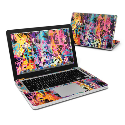 MacBook Pro 13in Skin - Robot Roundup