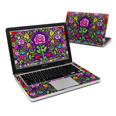 MacBook Pro 13in Skin - Rose Burst