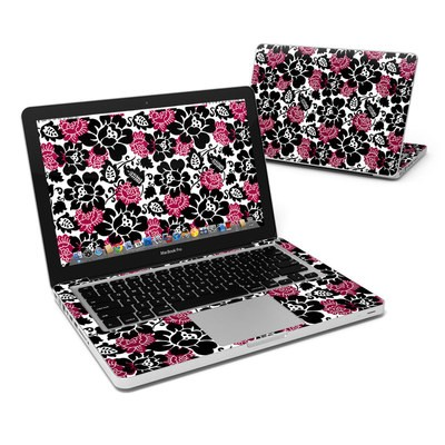 MacBook Pro 13in Skin - Rose Noir