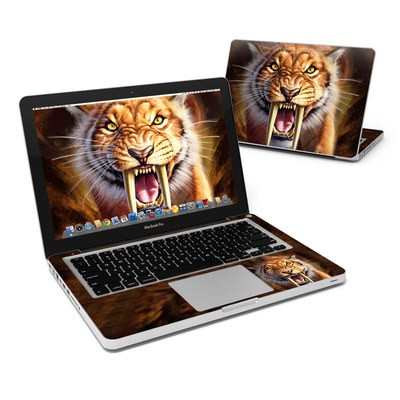 MacBook Pro 13in Skin - Sabertooth