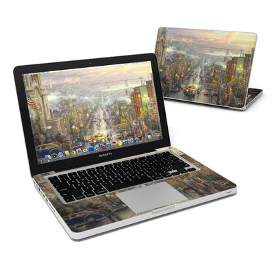 MacBook Pro 13in Skin - Heart of San Francisco