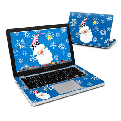 MacBook Pro 13in Skin - Santa Snowflake