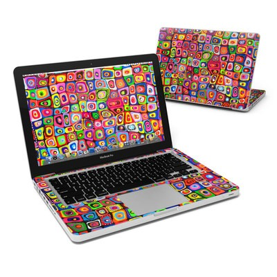 MacBook Pro 13in Skin - Square Dancing