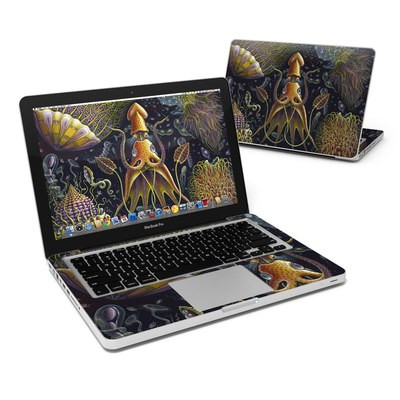 MacBook Pro 13in Skin - Sea Flowers